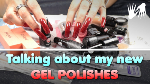 Talking about my new gel polishes 💅 Painting nail tips